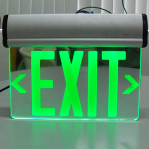 Alpha Office Equipments Center Exit Signs